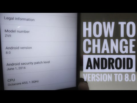 How To Change Your Android Version To 8.0 😲