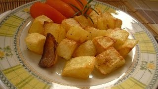 Картошка в Духовке Patate al Forno Baked Potatoes with Rosemary