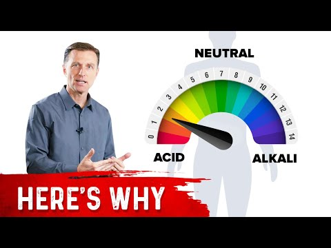 Acidify, Don't Alkalize Your Body