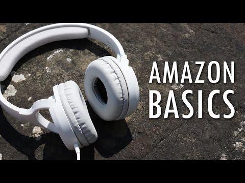 Cuffie economiche ma di qualità - Recensione Cuffie Amazonbasics