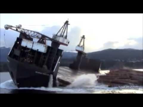 Barge wood - stowage