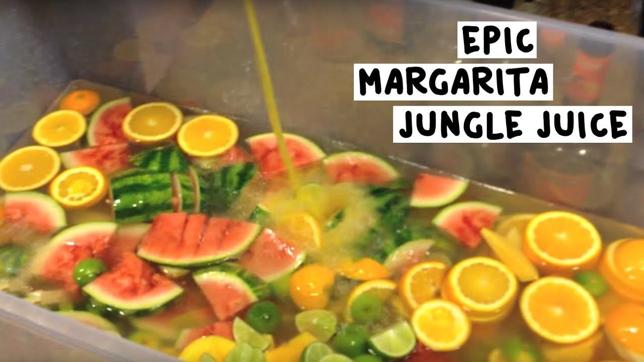 Epic Margarita Jungle Juice Tipsy Bartender