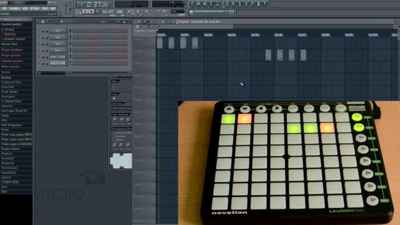 fl studio making a song