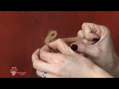 How to Make Human Hair Crochet Dreads from Afro Bulk Dreads - DoctoredLocks.com
