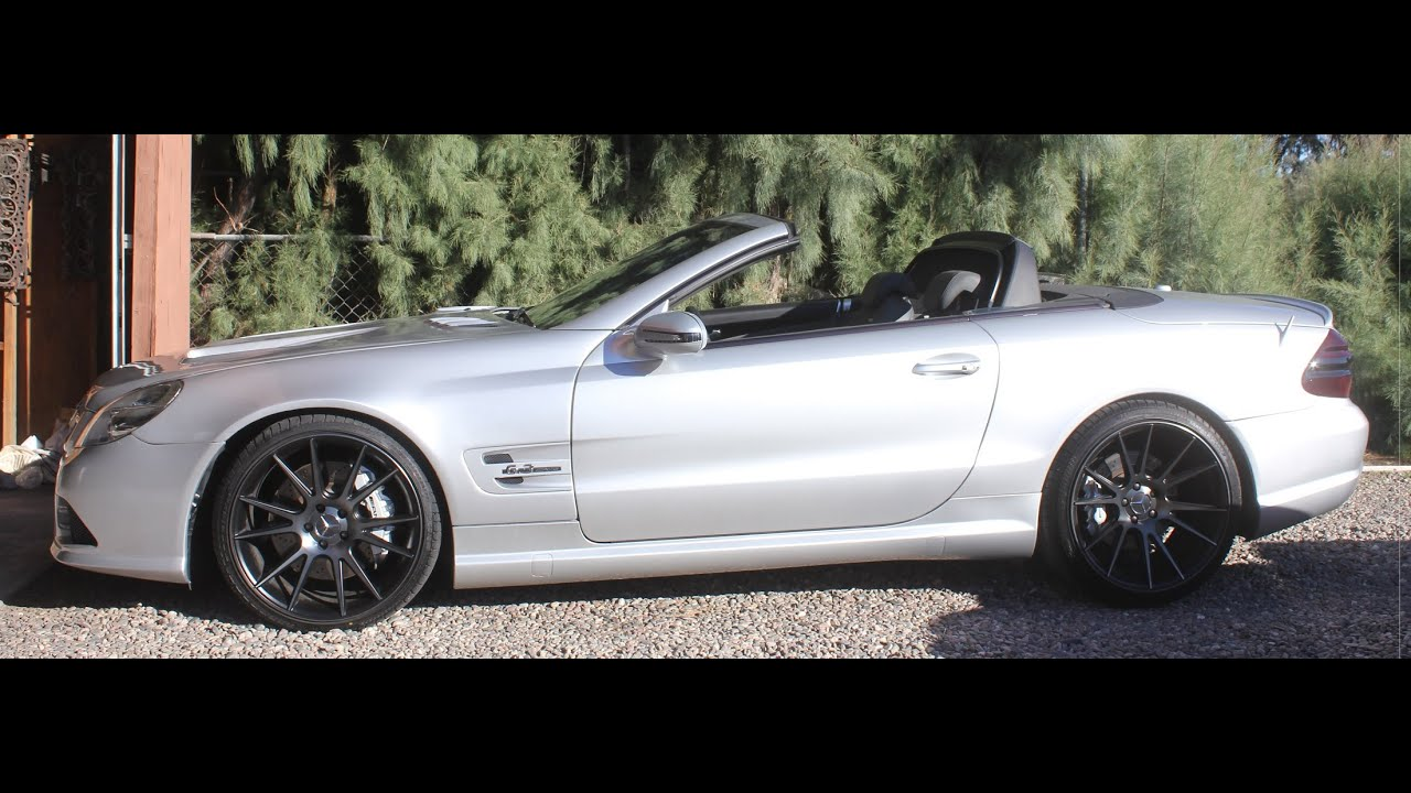 RENNtech sl55 AMG just before swap & turbos (LOUD RENN header notes)