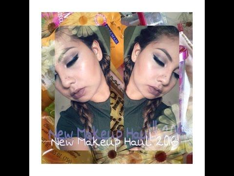 New Makeup Haul!! 2016