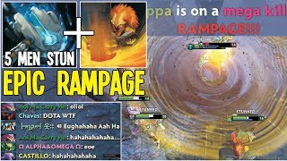 The Real Shaker 5 Men Echo By Rubick Epic Rampage | Dota 2 Gameplay