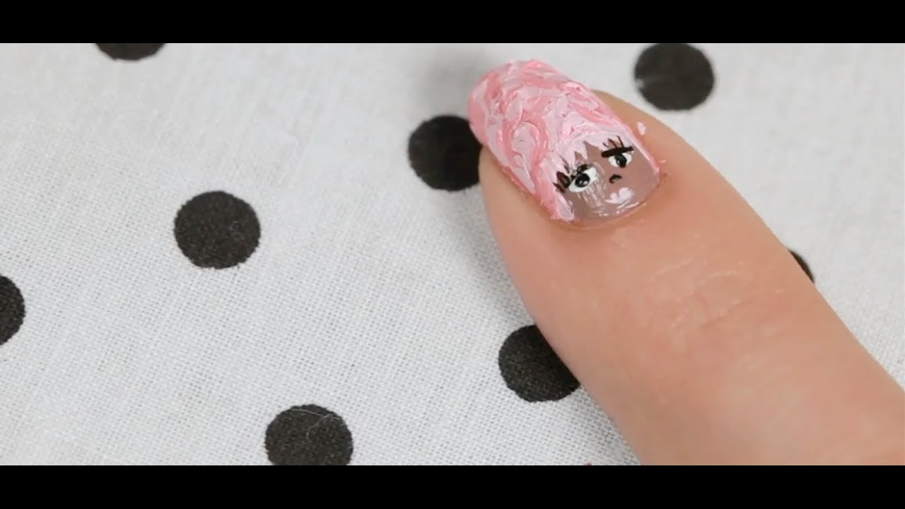 How to Get Nails like Nicki Minaj | Nail Art - YouTube
