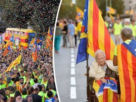 Spain Catalonia Independence: 'We will be free' Catalans call for independence in referendum