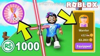 1000$ ROBUX HARCADIM VE PRO OLDUM 💪 Saber Simulator | Roblox Türkçe