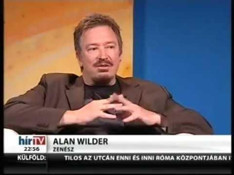Exkluzív interjút adott a Hír TV-nek Alan Wilder