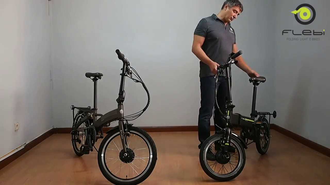 TFCFL Bicicleta plegable color blanco 20 pulgadas, 70-100 mm