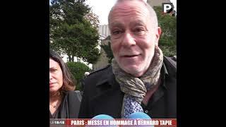 """Hommage à Bernard Tapie : """"C'était très émouvant, ça touche énormément"""" (Jean-Christophe Serfati)"""