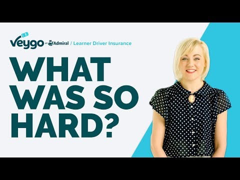 What Was Hard About Learning To Drive? | Veygo By Admiral