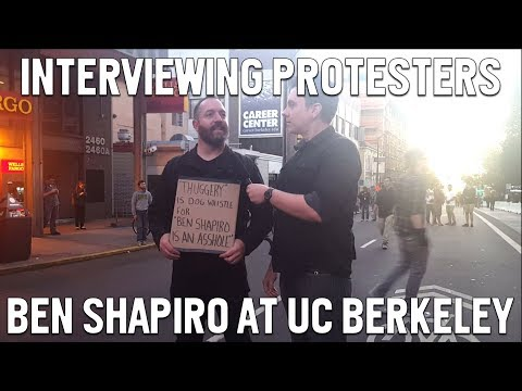 Communists and SJWs at Ben Shapiro UC Berkeley