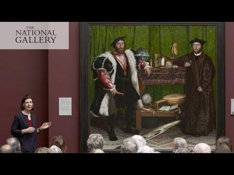Holbein's extraordinary 'Ambassadors' | National Gallery