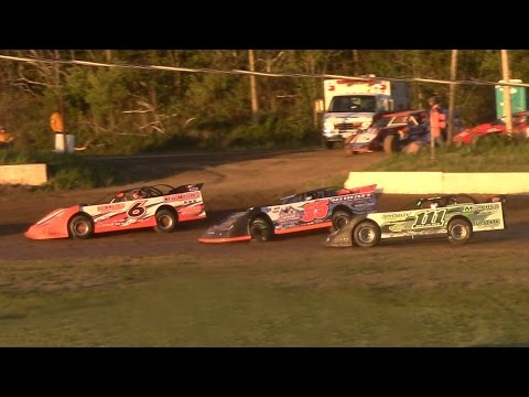 RUSH Crate Late Model Feature | Eriez Speedway | 5-14-17