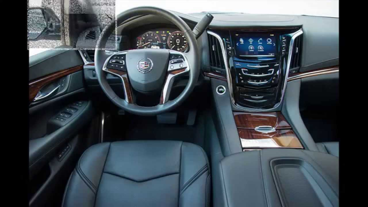 2016 Cadillac Escalade Interior >> cadillac Escalade Luxury interior 2015 - YouTube