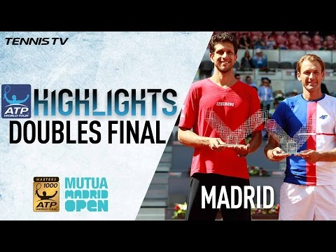 Highlights: Kubot/Melo Win Madrid Doubles Title 2017