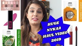 NYKAA Sale Haul | Makeup and Skincare First Impression 2019