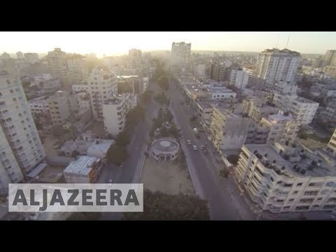 Palestine Remix - Drone Footage: Rimal in Gaza