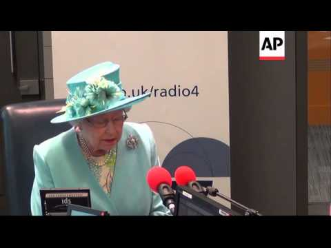 Queen opens new BBC Broadcasting House
