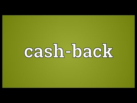 Cash-back Meaning