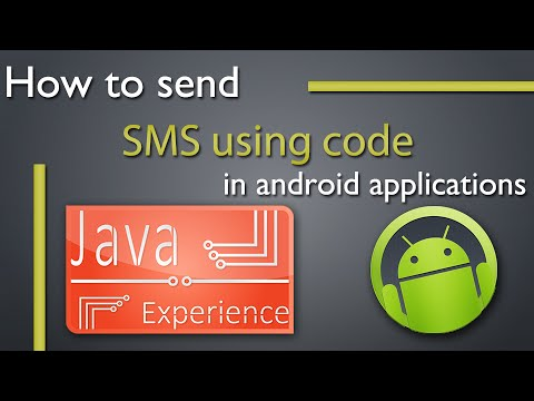 How to send SMS using code in android