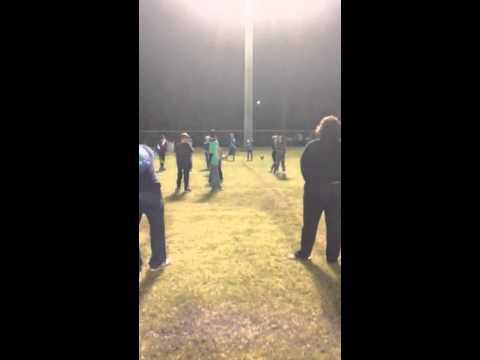 Parents vs kids soccer kid