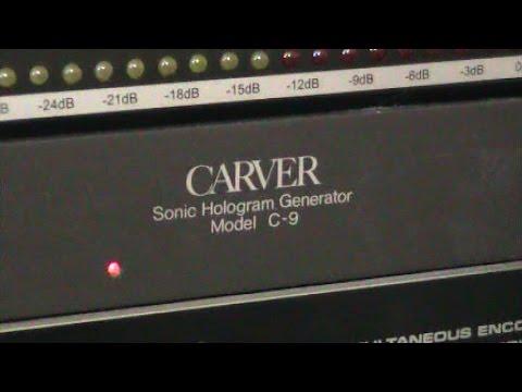 Sonic Hologram, Carver C-9: Hammy Technoid Talks