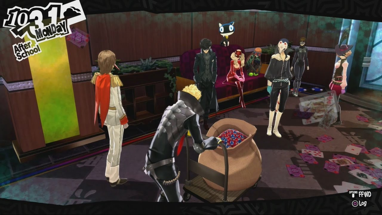 Persona 5 casino more coins