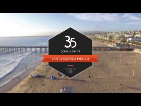 Santa Monica Pier - Drone Video