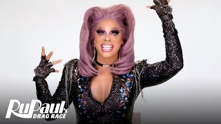 Shuga Cain's 'Entrance Lewk' Makeup Tutorial 💄 | RuPaul's Drag Race Season 11