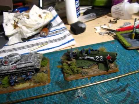 Soviet Army Build Part 4, Done the tanks