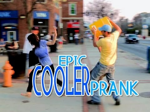 Epic Cooler Prank!!