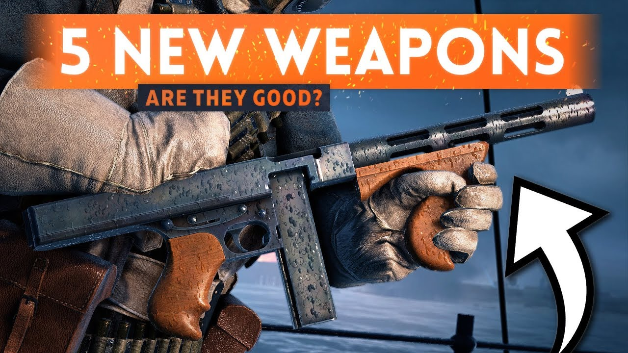 5 NEW ASSAULT WEAPONS: Are They Good? - Battlefield 1 Weapons Crate DLC Update (New *FREE* Weapons)