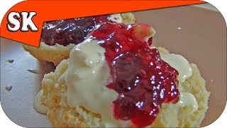 Cream Tea -  With Homemade Scones And Clotted Cream