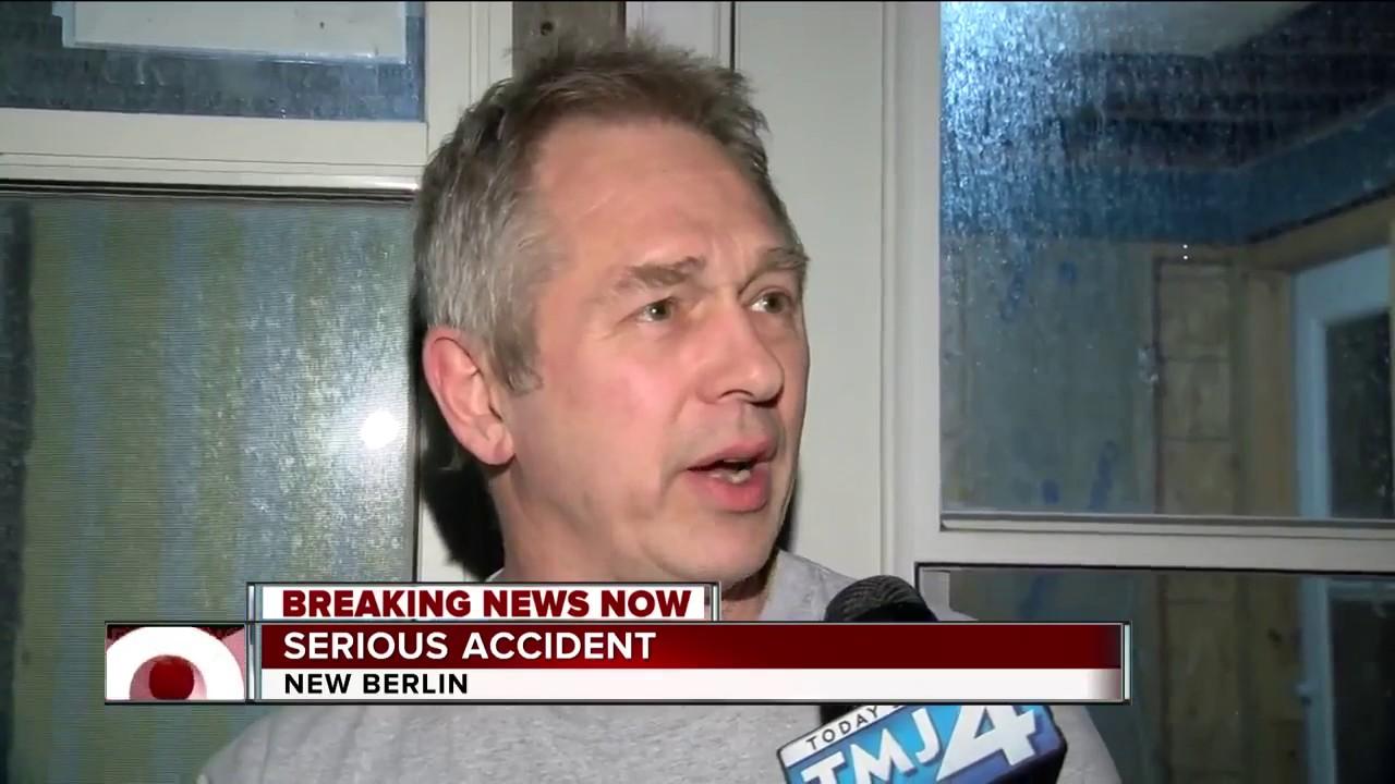 New Berlin PD respond to serious crash