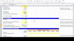 Financial Modeling Quick Lesson: Simple LBO Model (1 of 3)