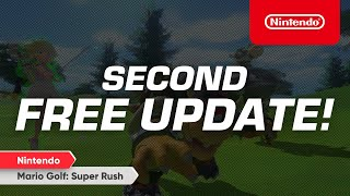 Mario Golf: Super Rush – Second Free Update Available Now! – Nintendo Switch