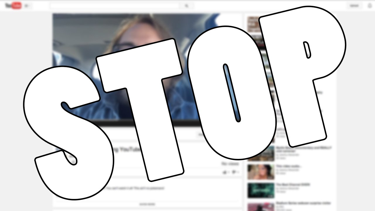 How to stop some videos on youtube