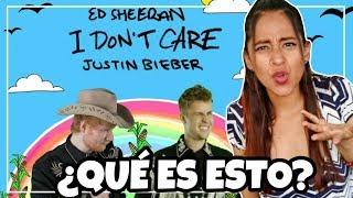 Baixar Ed Sheeran & Justin Bieber - I Don´t Care (Official Video) REACCIÓN | Meli Sbeib