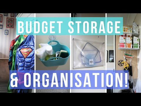 DIY Storage Ideas and Organisation Hacks 2019 | Affordable Home Organising