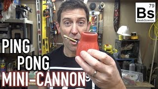 Ping Pong Mini Cannon - How To