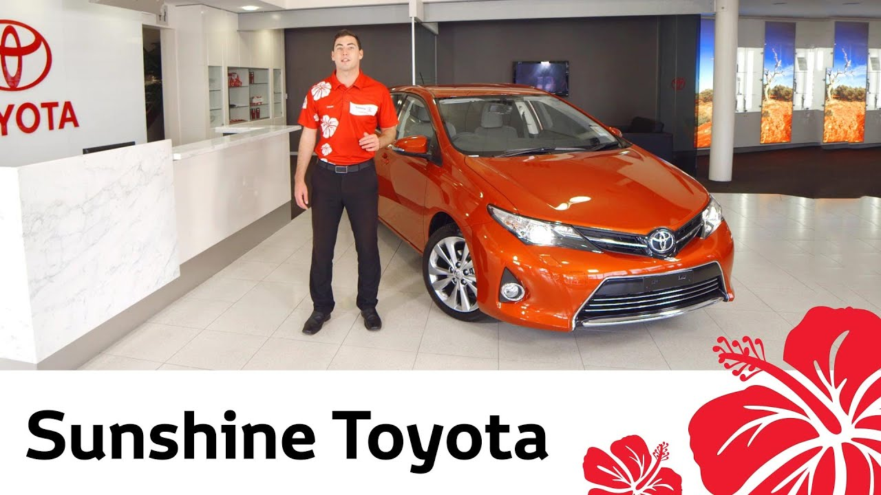 2014 toyota corolla hatch video review by sunshine toyota
