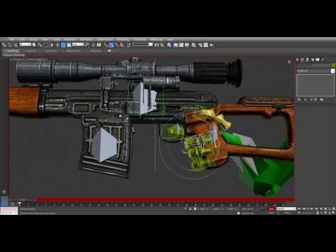 Rigging and Animating 3D Weapons