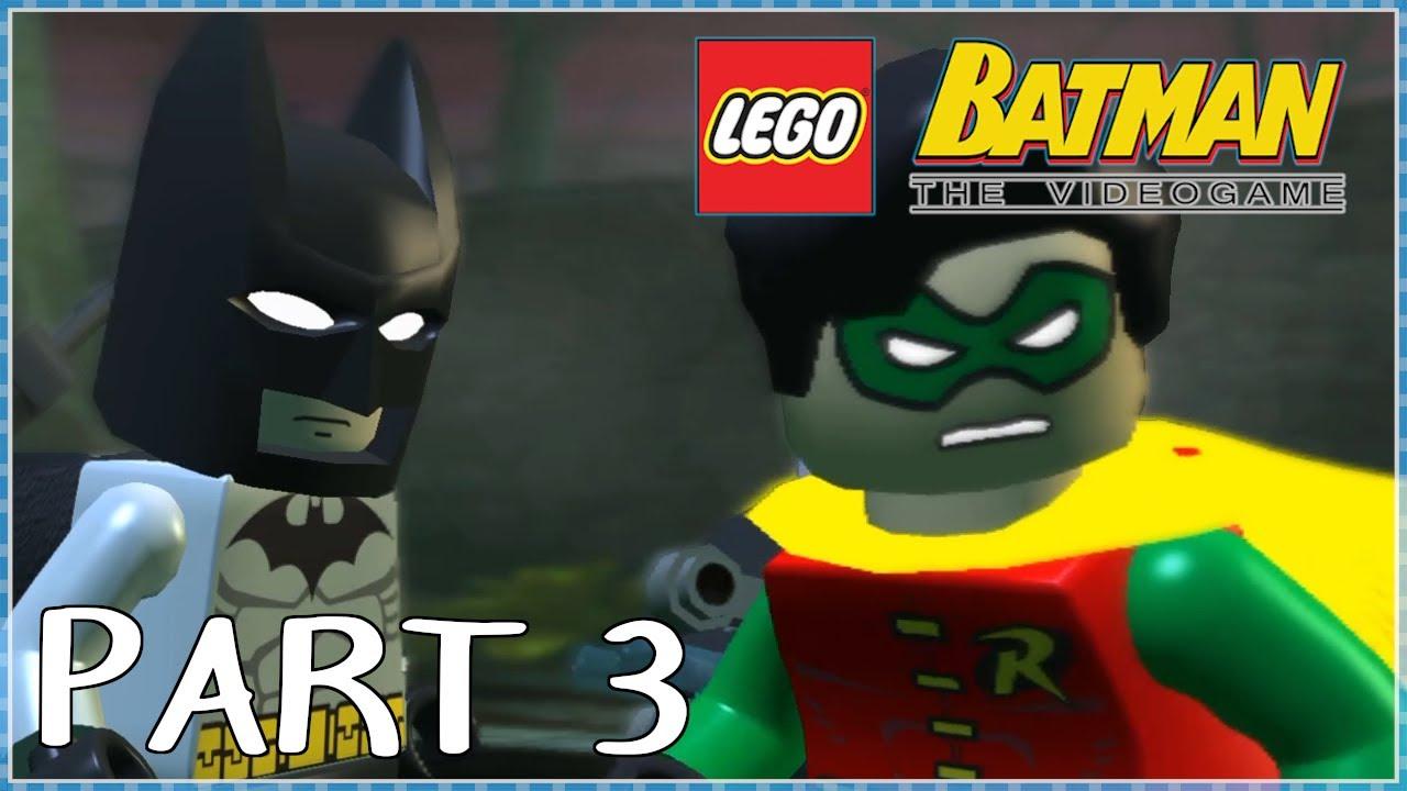 LEGO Batman The Videogame Co-op Playthrough Part 3 - On ...
