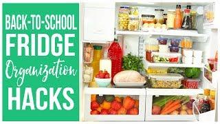 Back-to-School Fridge Organization Hacks!