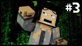 "Minecraft: ""CAVE PEOPLE!"" #3 (Gazza Island)"