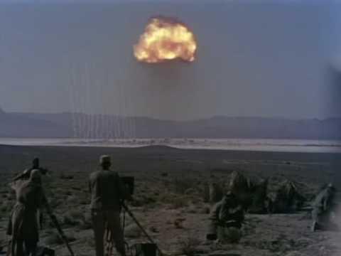 Nuclear blast shock wave